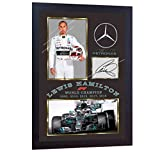 S&E DESING NEW 2018 F1 World Champion Lewis Hamilton signed autographed photo print FRAMED.