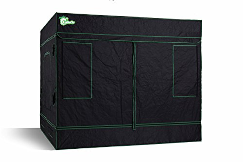$229.99 indoor grow tent kit Hydro Crunch D940009000 Hydroponic Grow Tent 96″ x 96″ x 80″ 2019