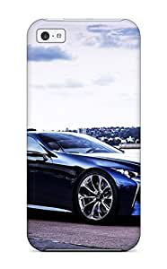 Iphone 5c Hard Back With Bumper Silicone Gel Case Cover Lexus Sc430 36