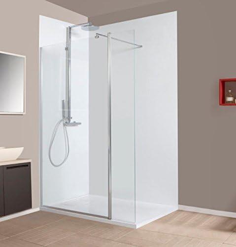Mampara de ducha fija italiana VITROS con un Panel extraíble ...
