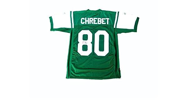 f5051f4f Wayne Chrebet Signed Jersey - Home - JSA Certified - Autographed NFL ...