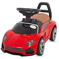 Baybee Lambo Baby Ride On car for Kids/Baby -Toddlers Ride On Push Car Baby/Kids - Twist, Turn, Wiggle for Endless Fun Easy to Assemble Suitable for Boys and Girls -Assorted colors