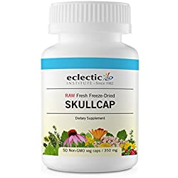 Eclectic Skullcap Cog Freeze Dried Vegetables, Green, 50 Count