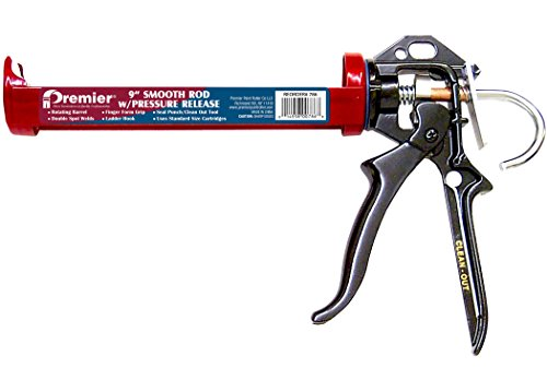 "Premier 9"" Pro Skeleton Caulk Gun, 1/10 Smooth Rod, 786"