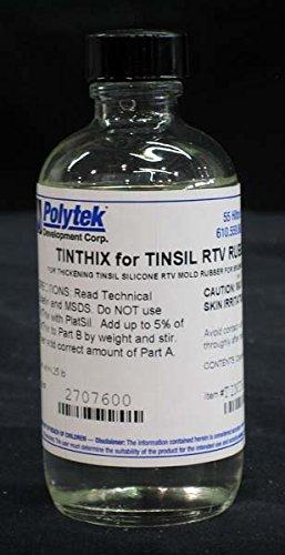 Polytek TinThix Liquid Thickening Agent (4oz) ()
