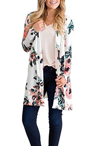 Floral Print Coat - 5