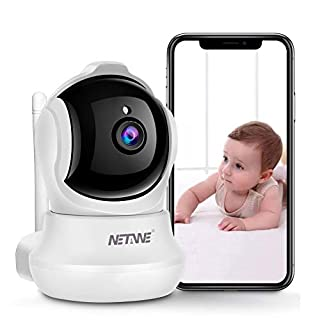 WiFi IP Camera 1080P, Security Camera, Indoor Home Camera for Pet Dog Nanny Baby Monitor, Dome Camera with HD Night Vision, Two-Way Audio and Motion Detection (D540)