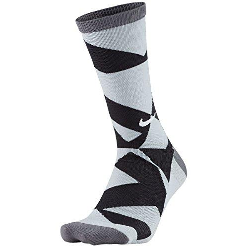 Nike Golf Elite Graphic Crew 3 Dark Grey Socks 1 Pair SG0692-001 (XL)