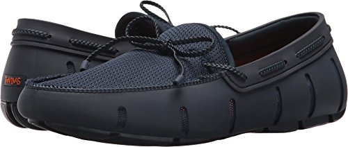 Swims Braided Lace Loafer Navy Mens Water Shoe Size 10M