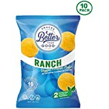 Better Than Good Snacks - Ranch Veggie Protein Puffs 16g Protein - 2 Serving of Fruits & Veggies, Low Carb, Low Sugar, 110 Calories Keto Friendly, Healthy Diabetic Snack
