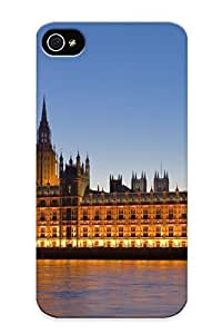 New Design Shatterproof 29be0706275 Case For Iphone 4/4s (london Parliment Big Ben ) For Lovers