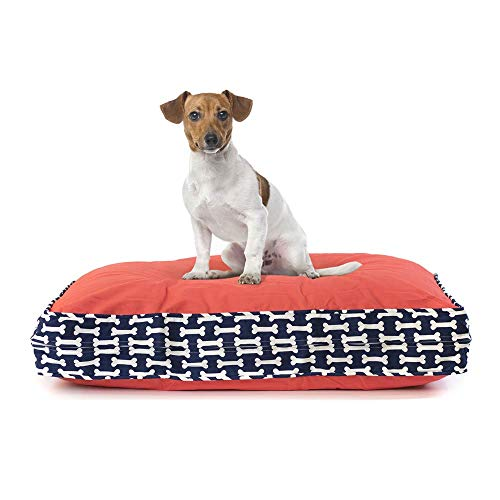- eLuxurySupply Pet Beds - Deluxe Cluster Fiber Filling Pet Beds for Dog and Cats | 100% Cotton Removable Cover | Fully Washable | Small, Medium & Large Pet Beds