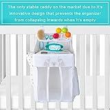Hanging Diaper Caddy – Crib Diaper Organizer