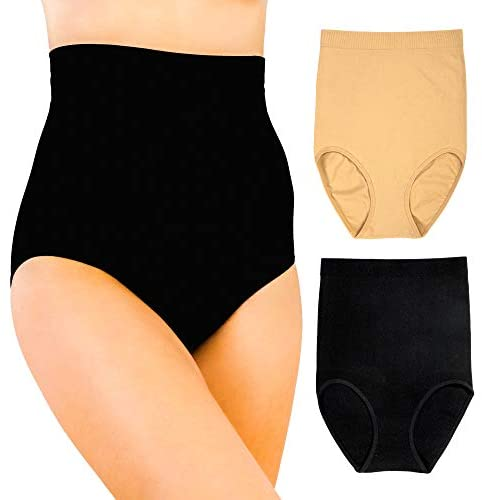Alyce Intimates Seamless Womens High Waisted Tummy & Thigh Slimmer