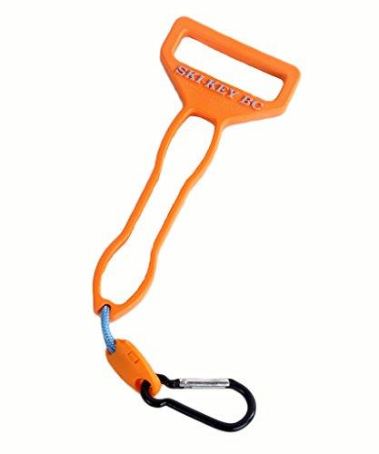 Bc Ski (Randall Innovations RSK20015 Orange Ski-Key BC, Boot Buckler)