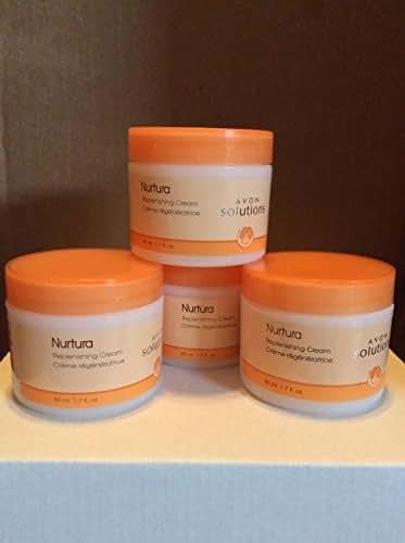 Avon Solutions Nurtura Replenishing Cream Lot of 4