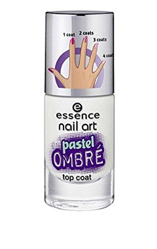 Amazon Essence Nail Art Pastel Ombr Top Coat Beauty
