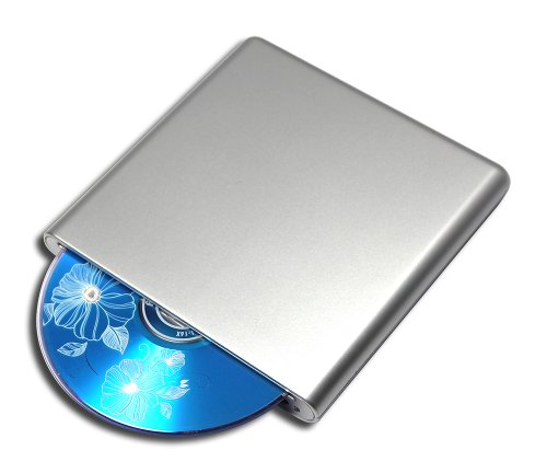 New USB Blu-ray Player BD-ROM Combo 8X DVD+-RW DL Writer for Asus Zenbook UX301 UX302 UX303 UX305 X310 UX330 UX360UA UX390UA UX430 UX530 Ultrabook Laptop Slot-in External Optical Drive Silver by Valley Of The Sun
