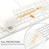 Allinside Transparent Keyboard Cover for iMac Wired
