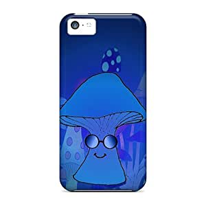 taoyix diy HWxAX3886PjhRS Faddish Mikedashroom Blue Case Cover For Iphone 5c
