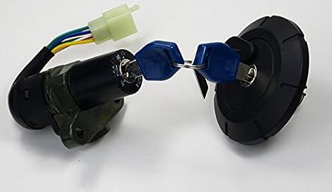 Tankdeckel Abschließbar Mit Zündschloss Ersatzteil Für Kompatibel Mit Yamaha Dt Xt 125 50 X R Auto