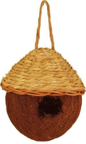 Tierra Garden 37-571 Palm and Seagrass Round Nesting Bag, Small