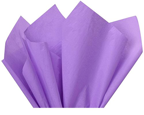 Soft Lavender Tissue Paper 15 Inch X 20 Inch - 100 Sheet-Flexicore Packaging®