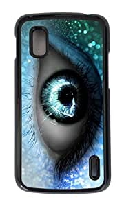 Google Nexus 4 Case,MOKSHOP Awesome fantasy eye Hard Case Protective Shell Cell Phone Cover For Google Nexus 4 - PC Black