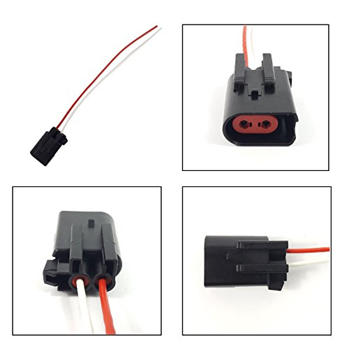 ABS, BREAK PAD EXTENSION WIRING HARNESS LOOM (2 PIN / FEMALE):
