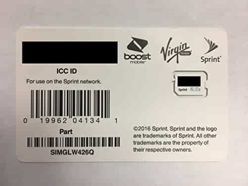 Shopping Sprint - $10 to $25 - SIM Cards & Prepaid Minutes