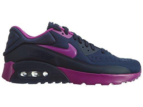 Nike 844600-400 - Zapatillas de deporte Niñas Azul (Midnight Navy / Hyper Violet-Blue Tint)