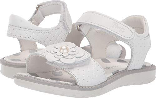 Primigi Kids Sandals - Primigi Kids Baby Girl's PAL 33899 (Toddler/Little Kid) White 28 M EU