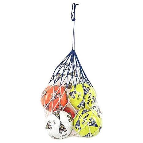 Carta Sport 10 x balones de fútbol Llevar Bolsa de Red: Amazon.es ...