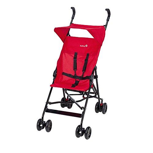 Safety 1st Peps - Silla de paseo compacta y ligera, con capota, color rojo