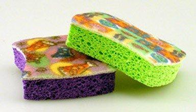 O-Cel-O 3M No Scratch Scrub Sponges 2 pk (Pack of 12)