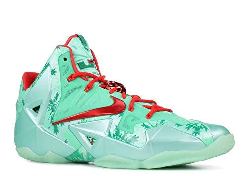bf3c9e6d9df4 Nike lebron james XI 11 CHRISTMAS GREEN GLOW mens hi top basketball  trainers 616175 301 sneakers shoes (uk 9.5 us 10.5 eu 44.5)