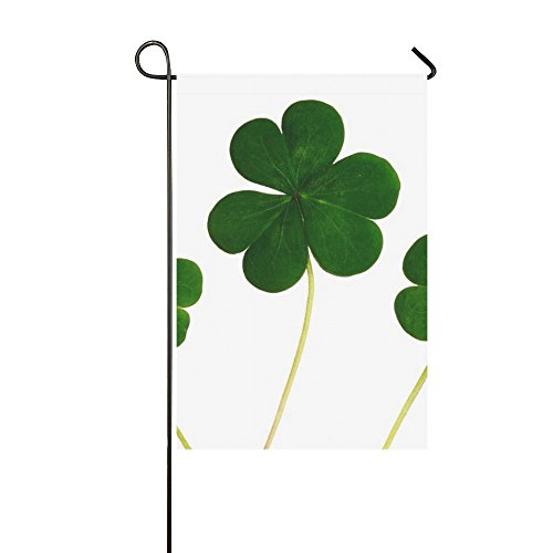 Home Decorative Outdoor Double Sided Clover Shamrocks Irish