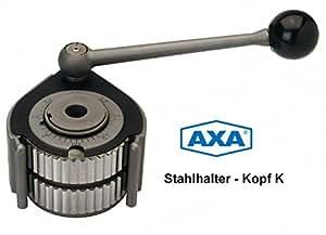 Axa Cambio Rápido de acero plana cabeza K11(= Multifix a) fabricado en Alemania (Cuerpo Base)