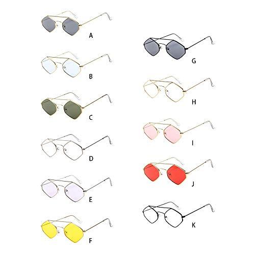 Mode Yeux Lunettes Cadre De Optiques Métal Bleue Protection Chejarity B Vue lumière Des Polygone Anti Femmes En Lunette Designer YSqd1a