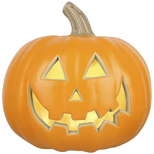 Outdoor Lighted Jack O Lanterns - 6