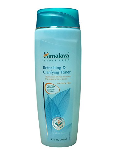 Himalaya Refreshing & Clarifying Toner, 6.76 Ounce (Best Toner For Sensitive Skin In India)