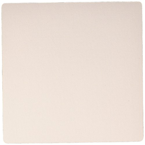Price comparison product image 3dRose Light peach - nude flesh color - pastel orange - Mouse Pad, 8 by 8 inches (mp_159866_1)
