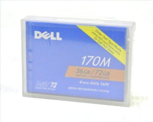 DELL 0W3552 DAT72 데이터 카트리지 압축 시 36GB / DELL 0W3552 DAT72 Data Cartridge Uncompressed 36GB