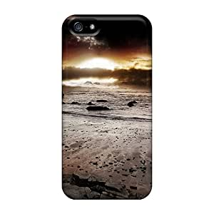 Iphone Case - Tpu Case Protective For Iphone 5/5s- Beach Sunset