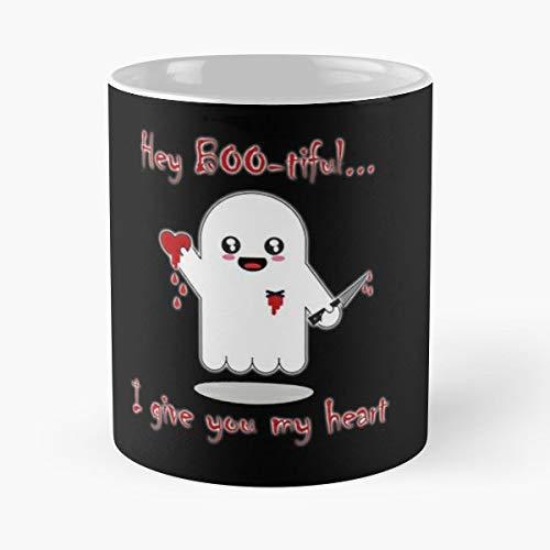 Ghost Ghosts Heart Coffee,tea Mugs - 11