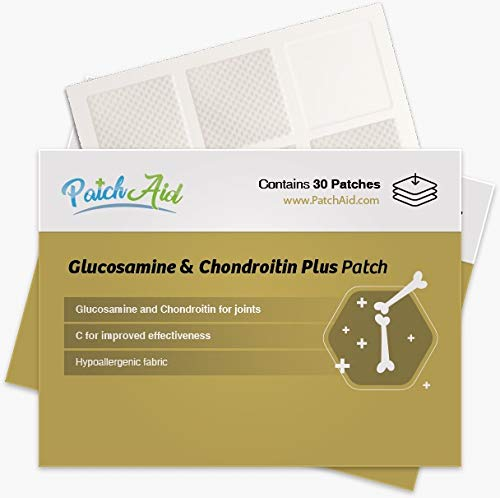 Glucosamine and Chondroitin Topical Plus Patch by PatchAid (12-Month Supply)