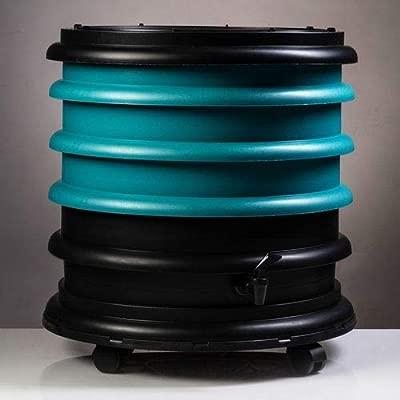 WormBox : Vermicompostador 3 bandejas Turquesa - 48 litros