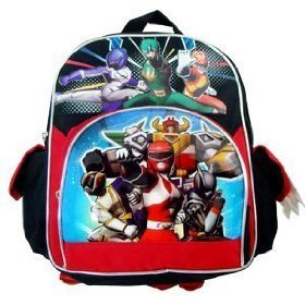 "Power Ranger Super Legends Toddler 12"" Backpack"
