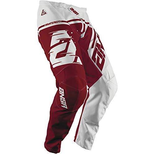 Answer Racing A18.5 Syncron Air Big Boys' Off-Road Motorcycle Pants - White/Red / Size 24