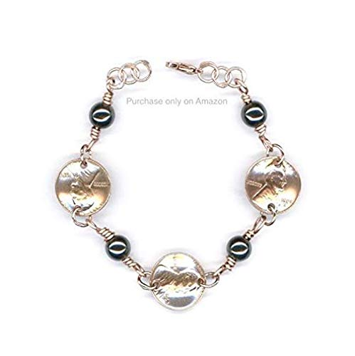 Amazon 1959 Penny Plus Hemalyke Bracelet 60th Birthday Jewelry